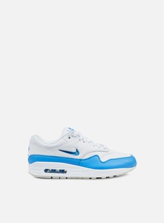 Nike - Air Max 1 Premium SC, White/University Blue 1