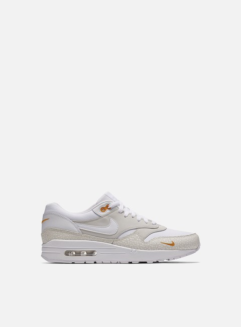 sneakers nike air max 1 premium white white kumquat
