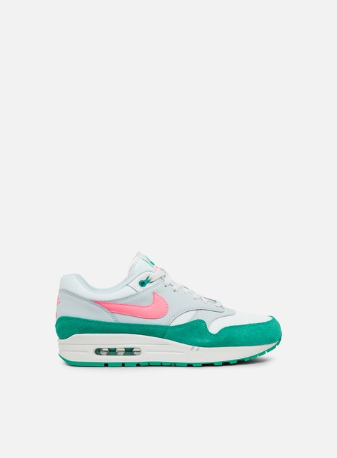 sneakers nike air max 1 summit white sunset pulse