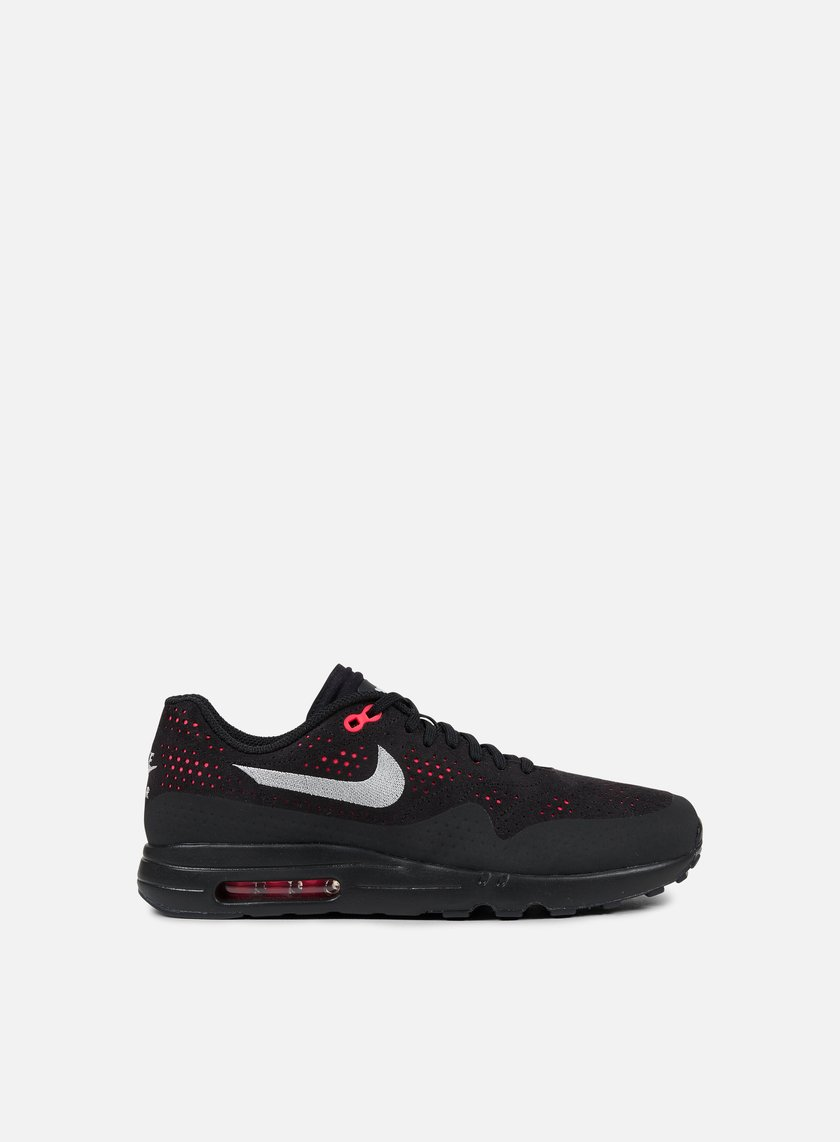 Nike - Air Max 1 Ultra 2.0 Moire, Black/Wolf Grey/Solar Red
