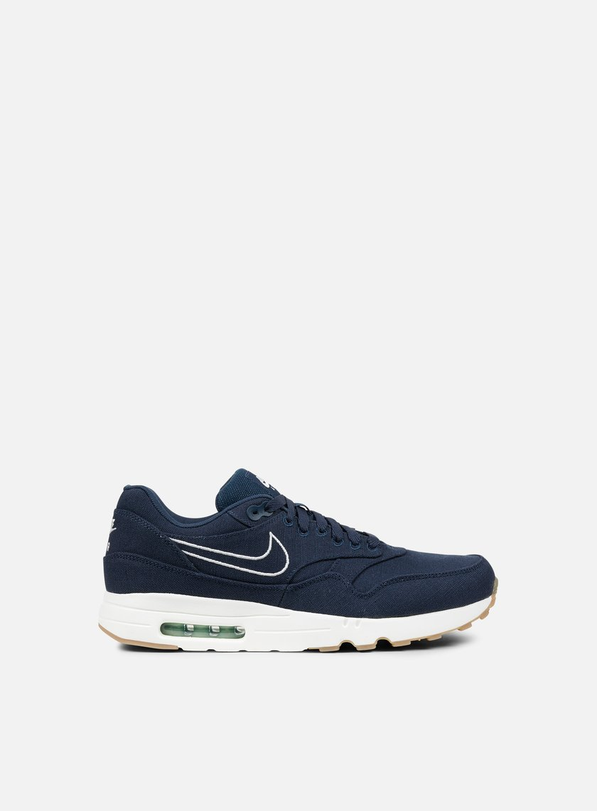 Nike - Air Max 1 Ultra 2.0 Textile, Armory Navy/Armory Navy/Sail