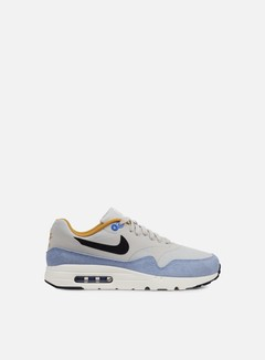Nike - Air Max 1 Ultra Essential, Light Bone/Black/Bluecap 1
