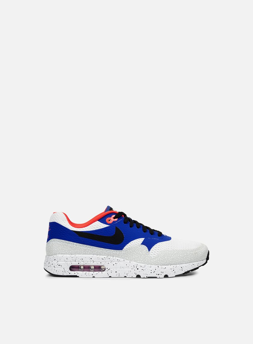 Nike - Air Max 1 Ultra Essential, White/Black/Varsity Royal
