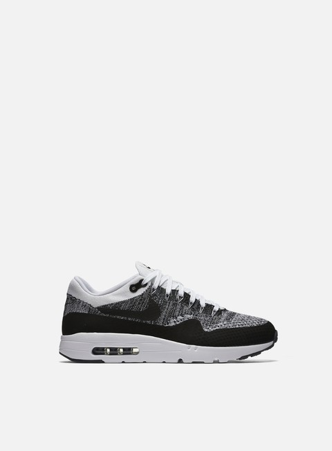 sneakers nike air max 1 ultra flyknit white black