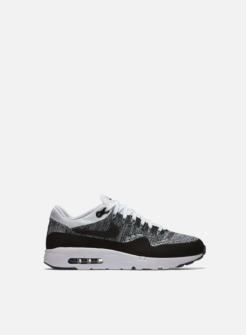 Nike - Air Max 1 Ultra Flyknit, White/Black