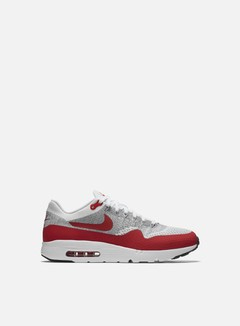 Nike - Air Max 1 Ultra Flyknit, White/University Red