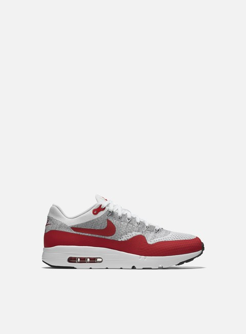 sneakers nike air max 1 ultra flyknit white university red