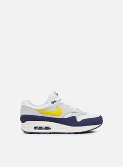 Nike - Air Max 1, White/Blue Recall/Tour Yellow