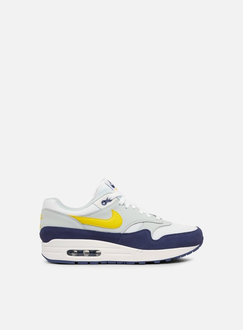 sneakers nike air max 1 white blue recall tour yellow