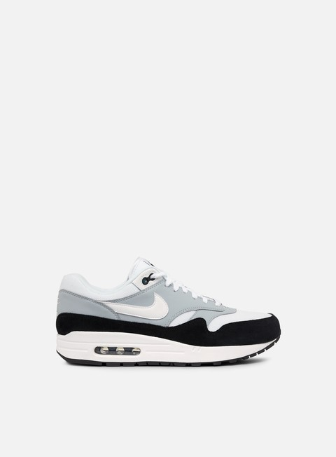 sneakers nike air max 1 wolf grey black white
