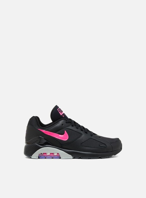 sneakers nike air max 180 black pink blast wolf grey