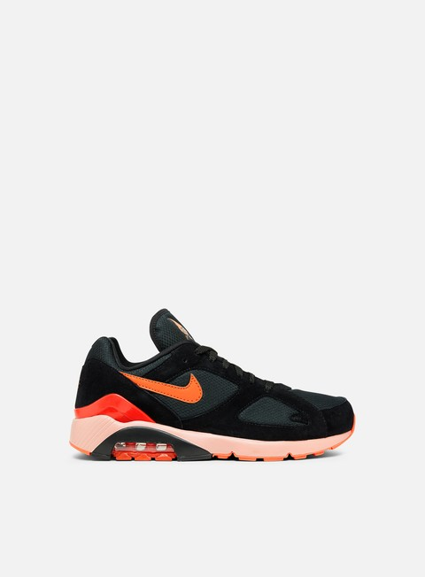 sneakers nike air max 180 black team orange