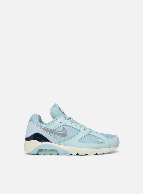 sneakers nike air max 180 ocean bliss metallic silver