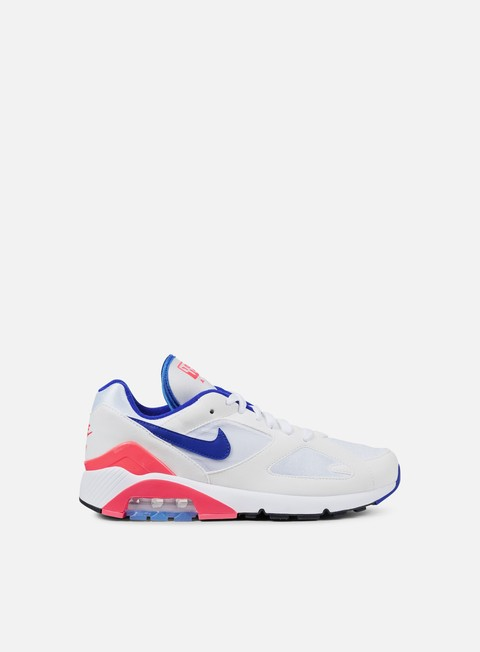 sneakers nike air max 180 white ultramarine solar red