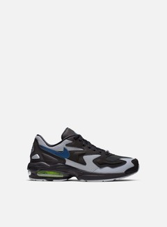 Nike - Air Max 2 Light, Black/Thunderstorm/Wolf Grey