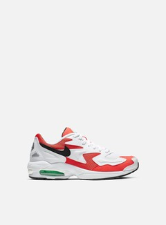 Nike - Air Max 2 Light, White/Black/Habanero Red/Cool Grey