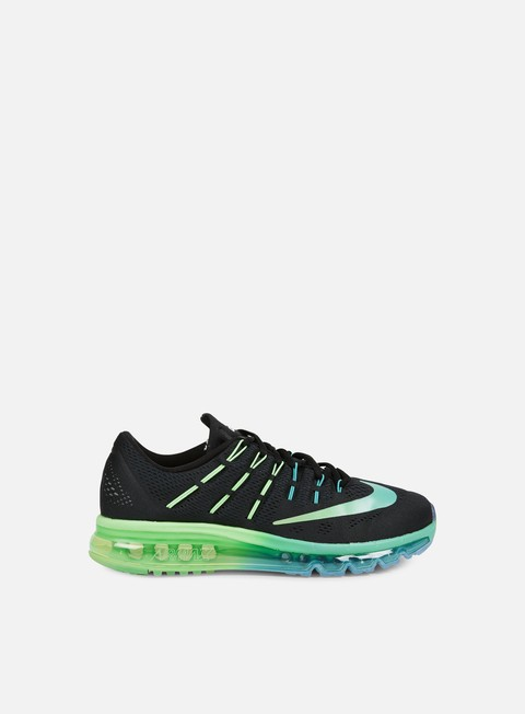 sneakers nike air max 2016 black multicolor midnight turquoise