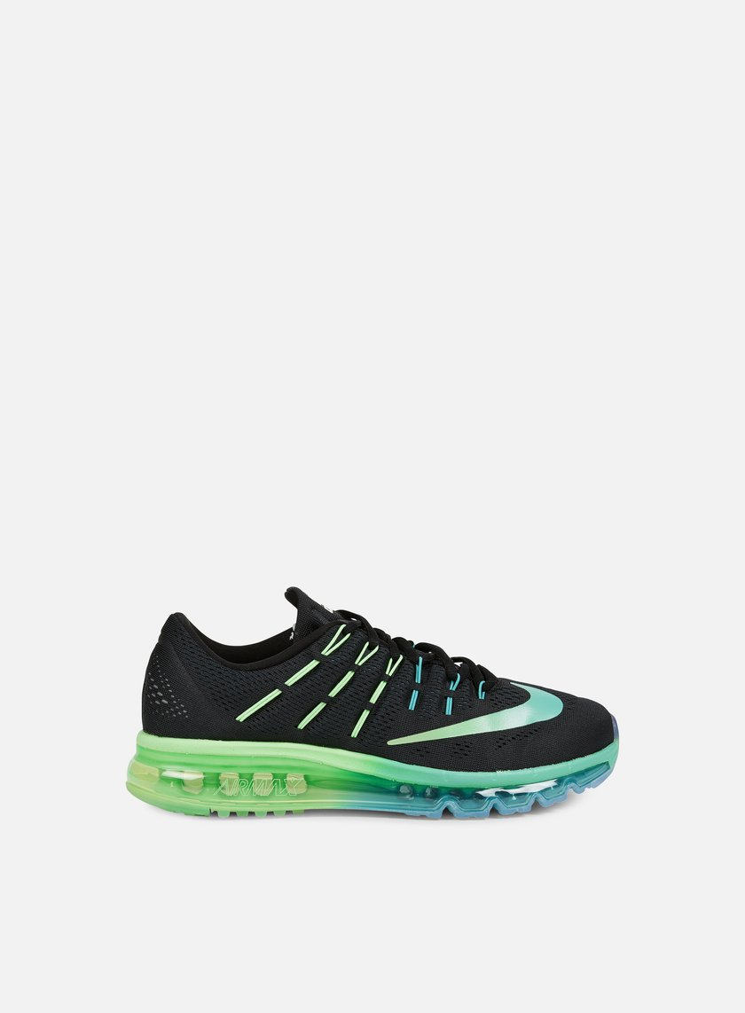 Nike - Air Max 2016, Black/Multicolor/Midnight Turquoise