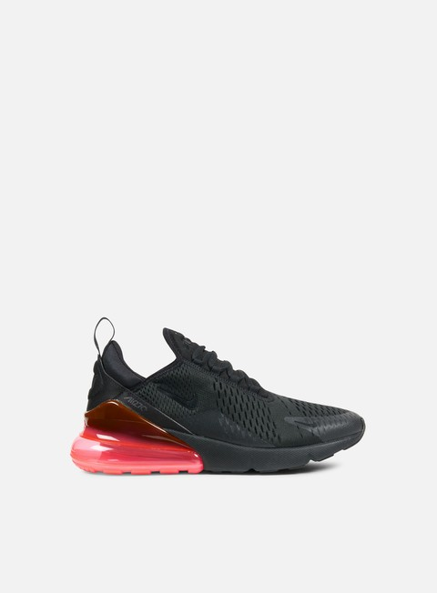 sneakers nike air max 270 black black hot punch