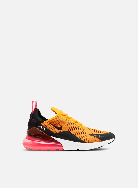 sneakers nike air max 270 black hot punch white university gold