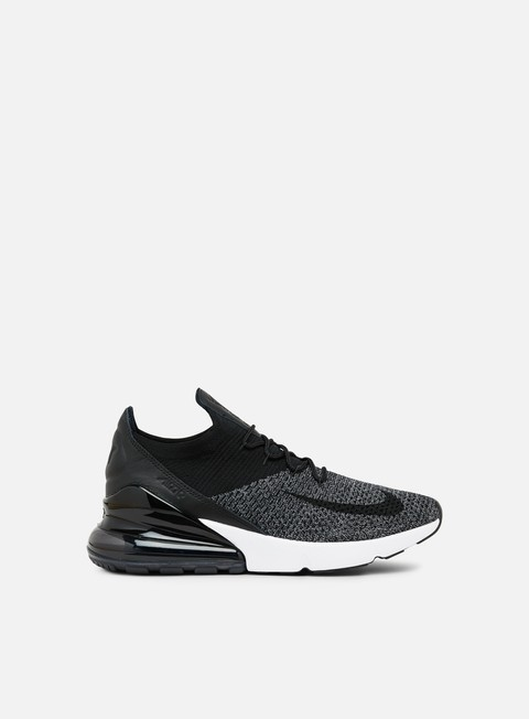 sneakers nike air max 270 flyknit black black white
