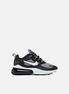 Nike - Air Max 270 React, Black/Vast Grey/Off Noir