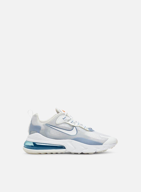 Nike Air Max 270 React Se Men White White Pure Platinum Indigo