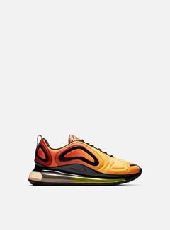 air max 720 arancioni e nere