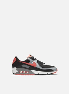 Nike - Air Max 90, Black/Radiant Red/White/Wolf Grey