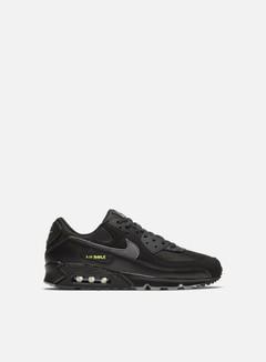 Nike - Air Max 90, Black/Smoke Grey/Limelight