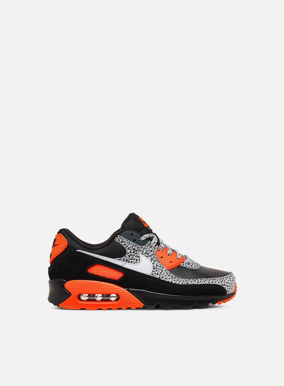 air max 90 uomo nere e arancioni