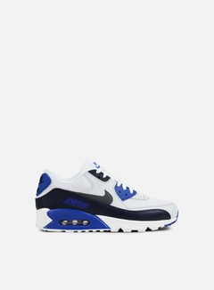 Nike - Air Max 90 Essential, Obsidian/Platinum/Dark Grey