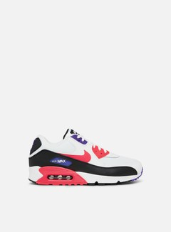 Nike - Air Max 90 Essential, White/Red Orbit/Psychic Purple/Black