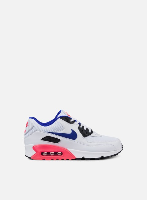 sneakers nike air max 90 essential white ultramarine solar red