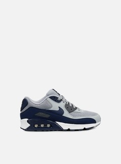 Nike - Air Max 90 Essential, Wolf Grey/Binary Blue/Dark Grey 1