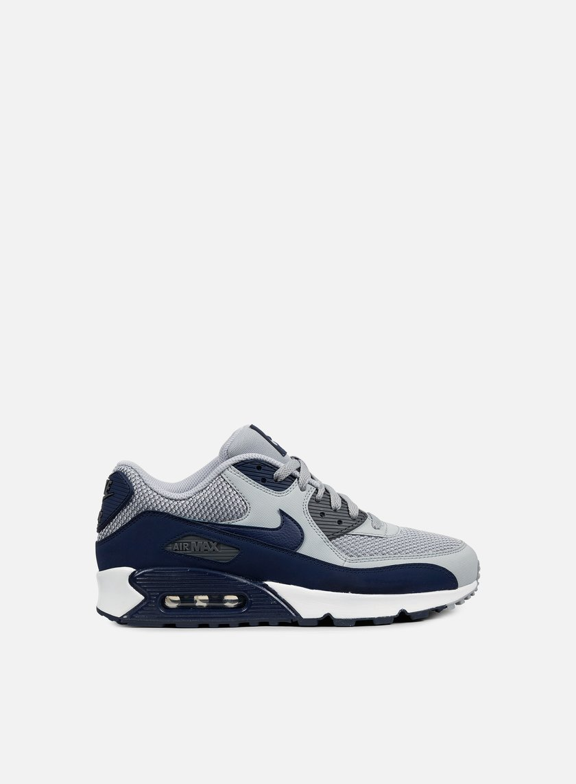 Nike - Air Max 90 Essential, Wolf Grey/Binary Blue/Dark Grey