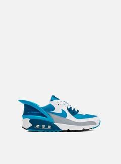 Nike - Air Max 90 FlyEase, White/Laser Blue/White