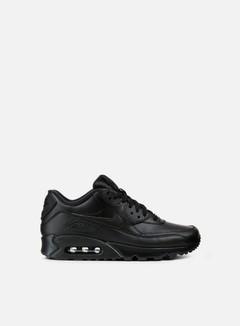Nike - Air Max 90 Leather, Black/Black