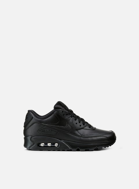 sneakers nike air max 90 leather black black