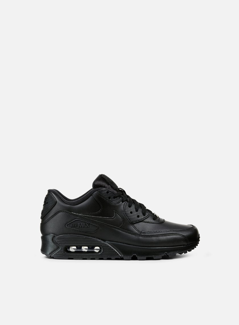 Nike - Air Max 90 Leather, Black/Black