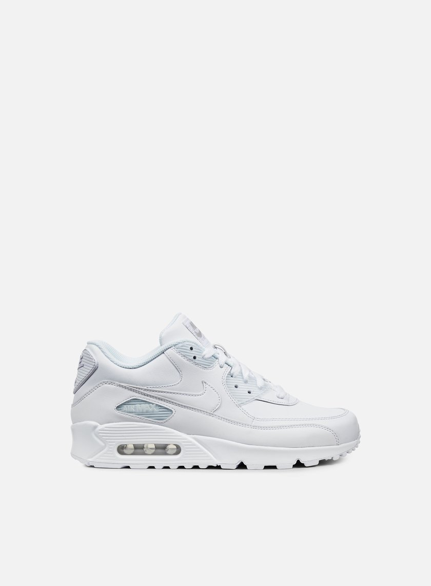 Nike - Air Max 90 Leather, True White/True White