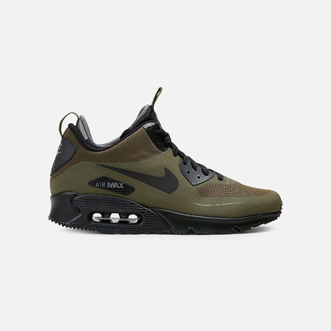 Nike Air Max 90 Mid WNTR Men, Dark Loden Black Dark Grey ...