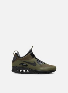 Nike - Air Max 90 Mid WNTR, Dark Loden/Black/Dark Grey 1