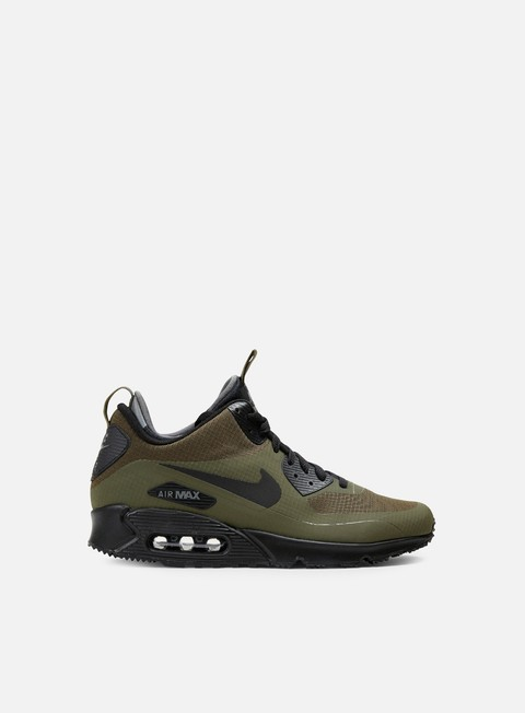 sneakers nike air max 90 mid wntr dark loden black dark grey