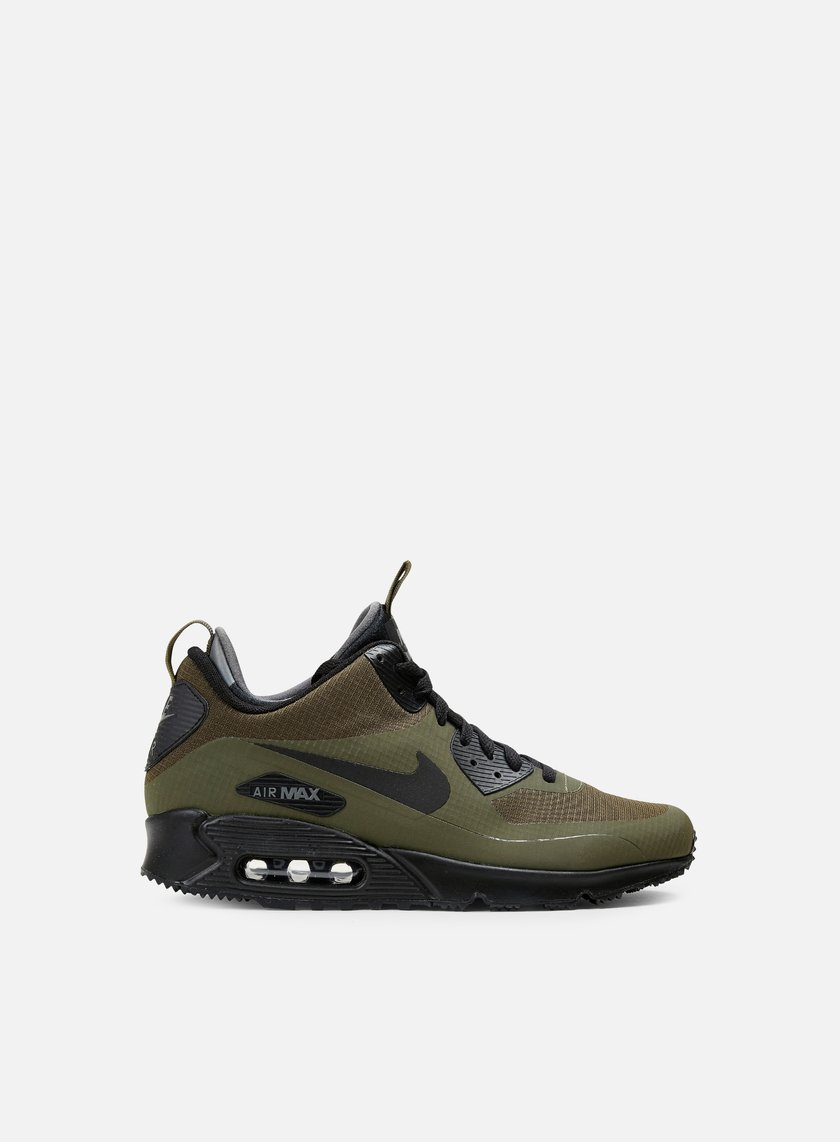 Nike - Air Max 90 Mid WNTR, Dark Loden/Black/Dark Grey