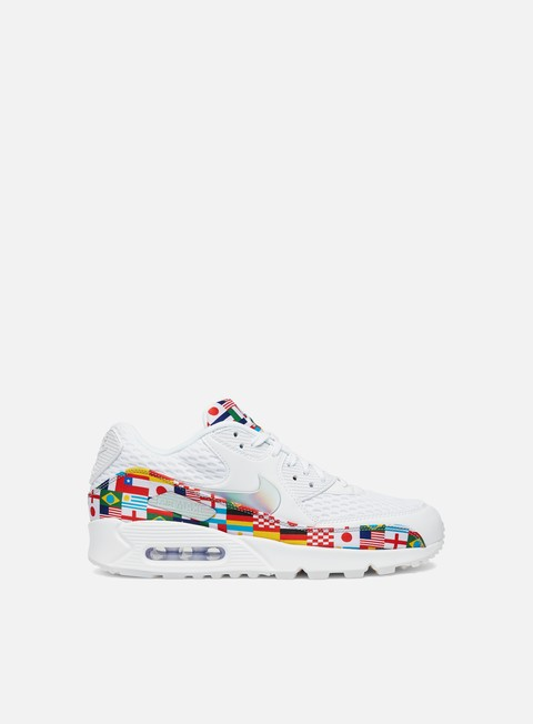 sneakers nike air max 90 nic qs white multi color
