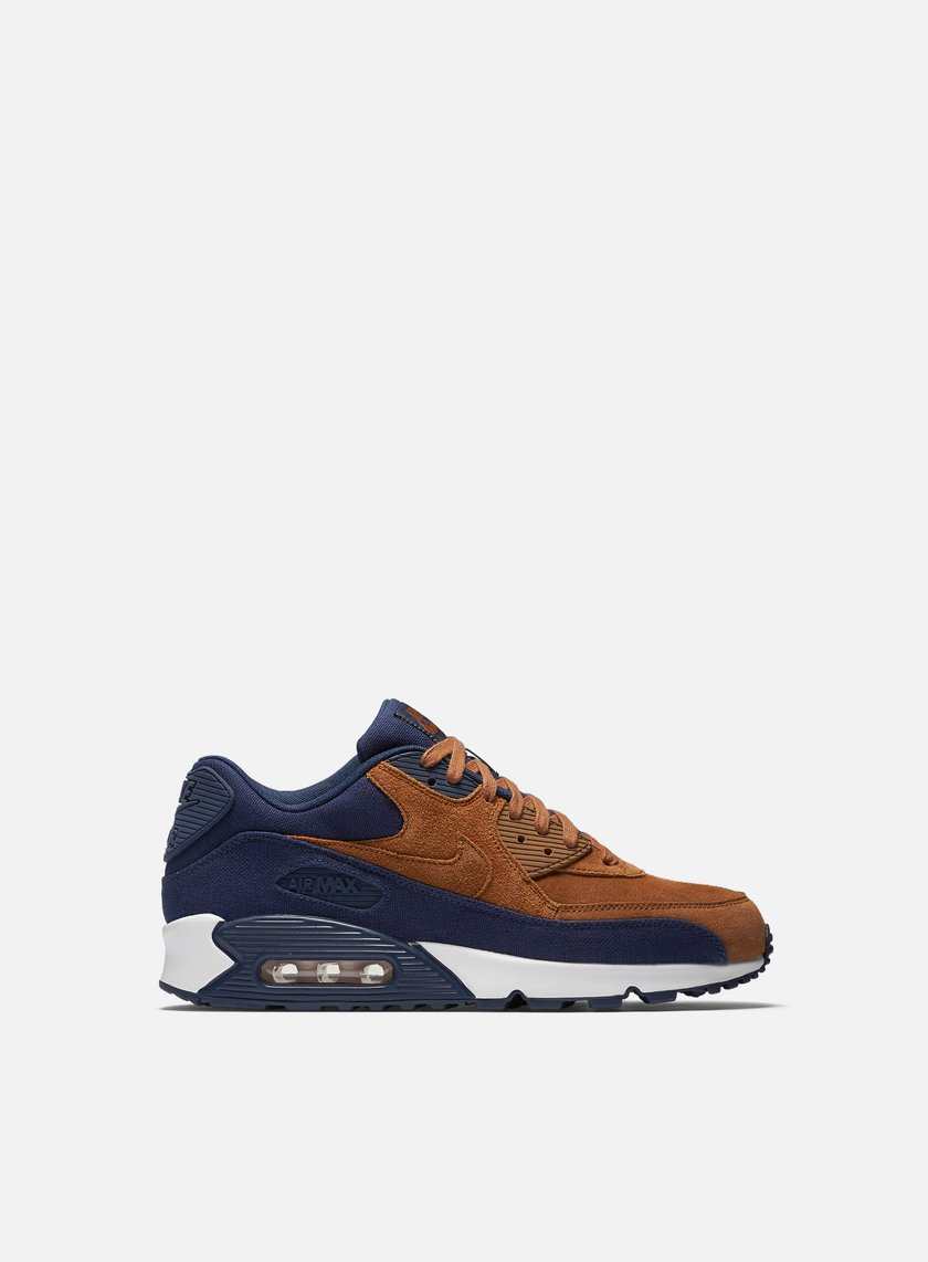 Nike - Air Max 90 Premium, Ale Brown/Ale Brown/Mid Navy