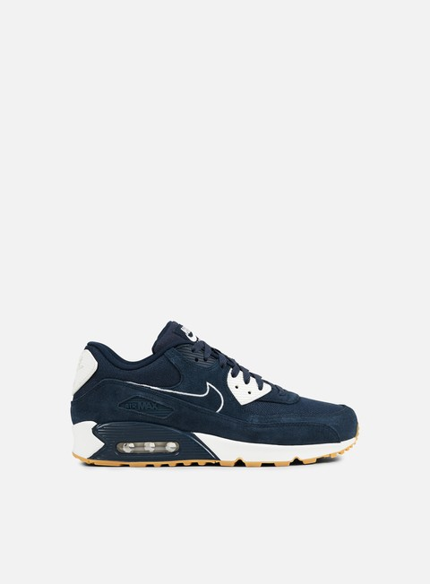 sneakers nike air max 90 premium armory navy sail gum