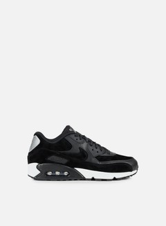 Nike - Air Max 90 Premium, Black/Black/Off White