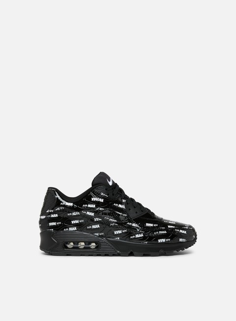 sneakers nike air max 90 premium black black white